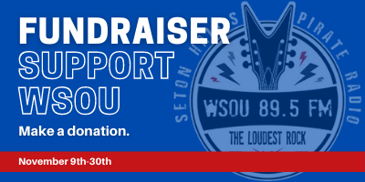 Fundraiser Support WSOU Make a donation. November 9th-30th
